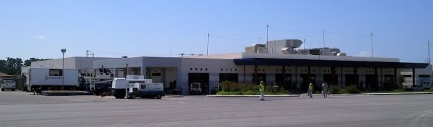 Araxos International Airport in Patras, Greece